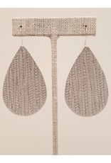 Darling Earrings Gray SugarCane