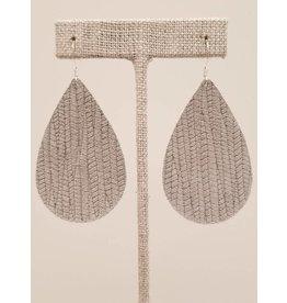 Darling Earrings Gray SugarCane
