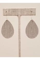 Dainty Earrings Gray SugarCane