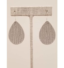 Dainty Earrings Gray SugarCane