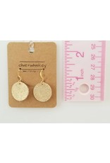 Dew Drops Gold Goddess Earrings