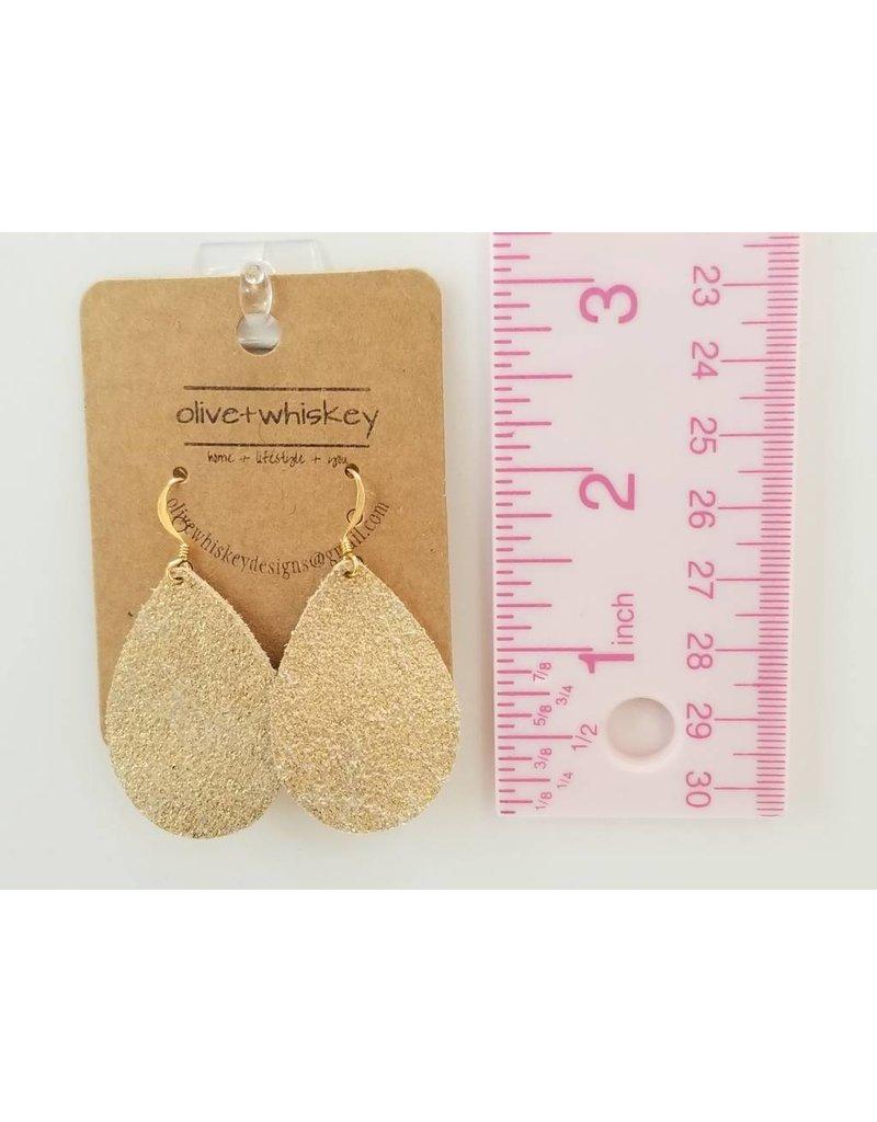 Dainty Gold Goddess Earrings