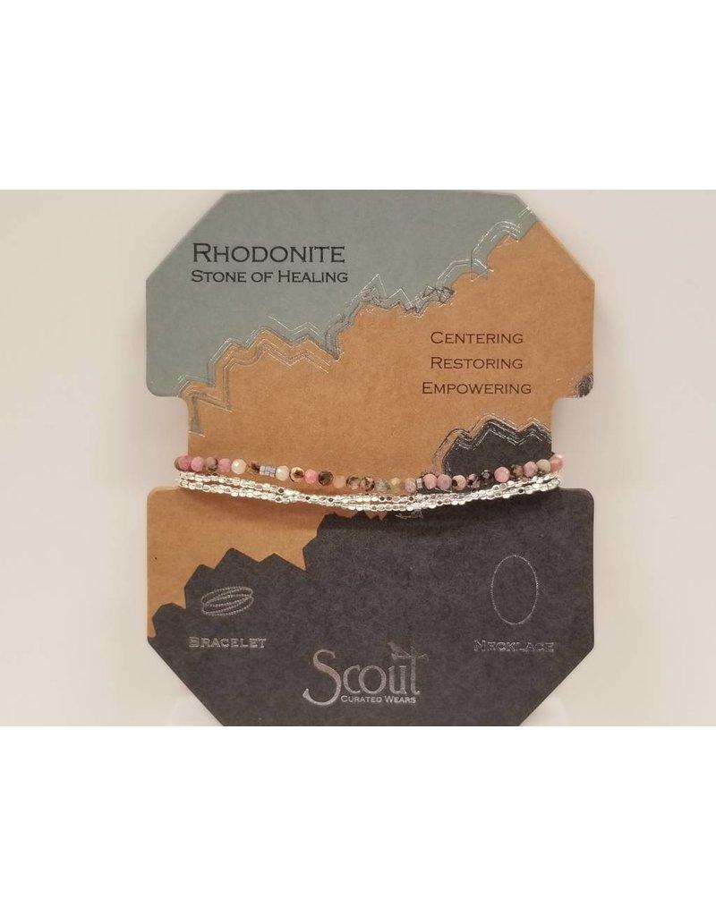 Delicate Rhodonite - Healing