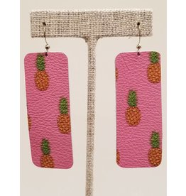 Bar Pink Pineapple Earrings CC Exclusive