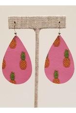 Darling Pink Pineapple Earrings CC Exclusive