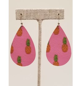 Darling Pink Pineapple Earrings CC Exclusive