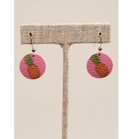 Dew Drop Pink Pineapple Earrings CC Exclusive