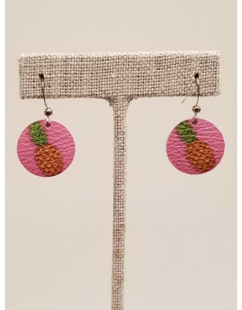 Dew Drop Pink Pineapple Earrings CC Exclusive