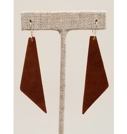 Dream Saddle Leather Earrings