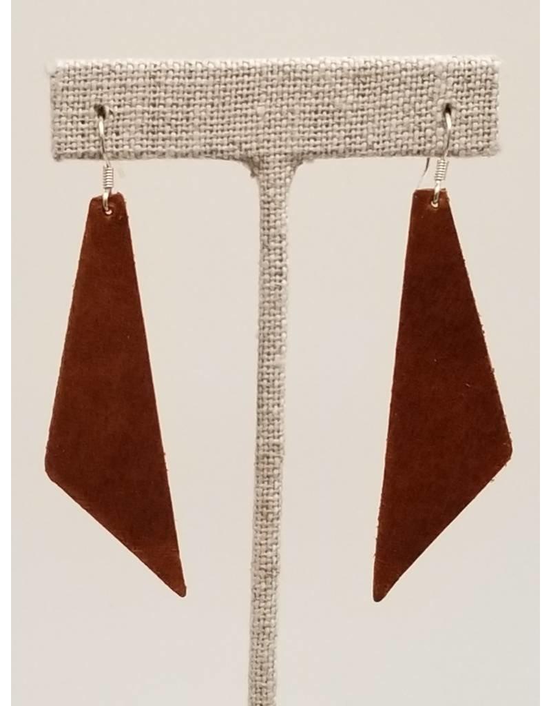 Dream Saddle Leather Earrings