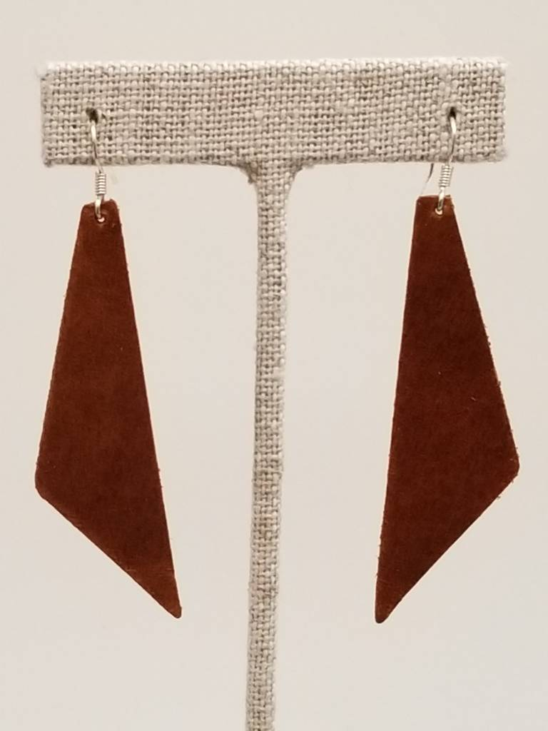 ef3f0e9c2fb930 Dream Saddle Leather Earrings - Coventry Corners
