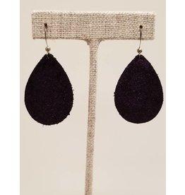Dainty Ultra Violet Sparkle Earrings