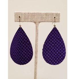 Darling Ultra Violet Metallic Earrings