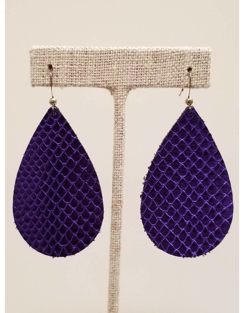 Darling Ultra Violet Metallic Earrings