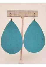 Daring Earring Caribbean Blue