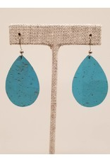 Dainty Earring Caribbean Blue