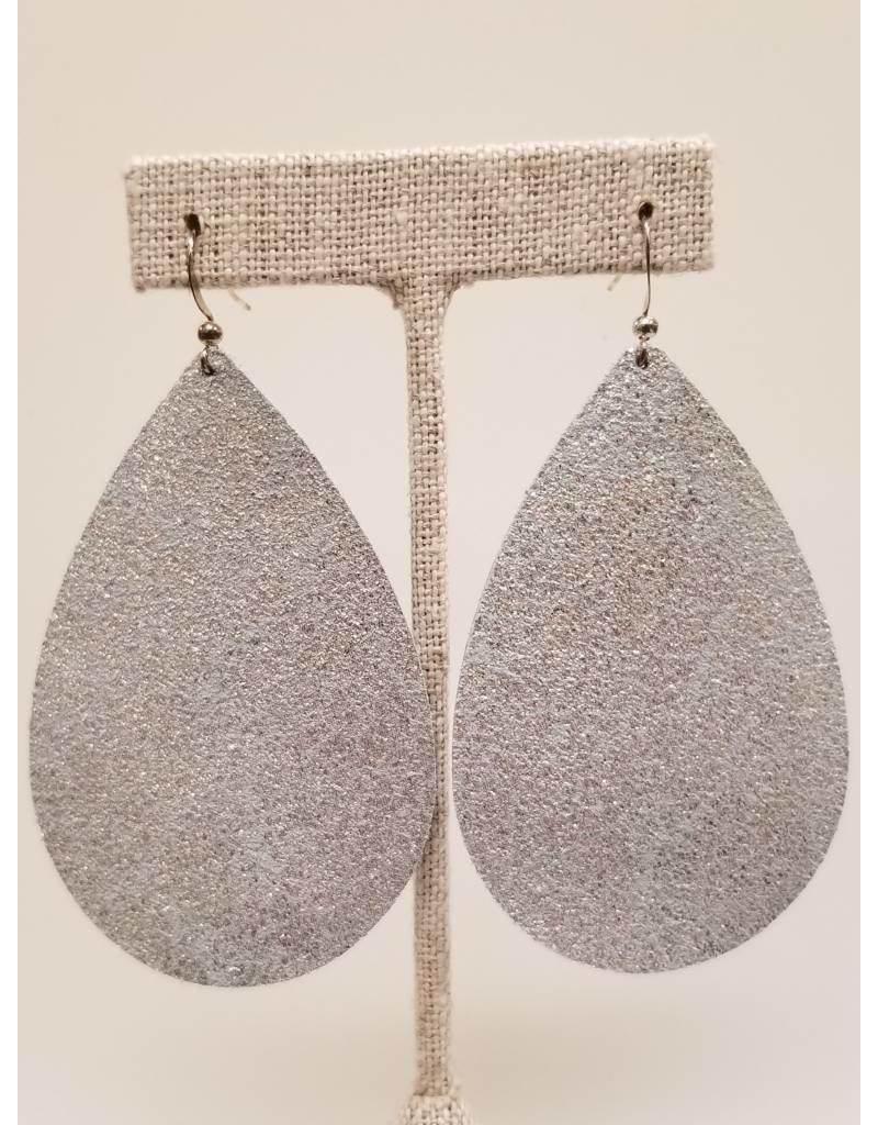 Daring Metallic Ice Earrings