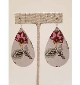 Darling Earring Cream Floral