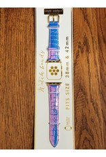 Purple Opal Glitter Watch Strap
