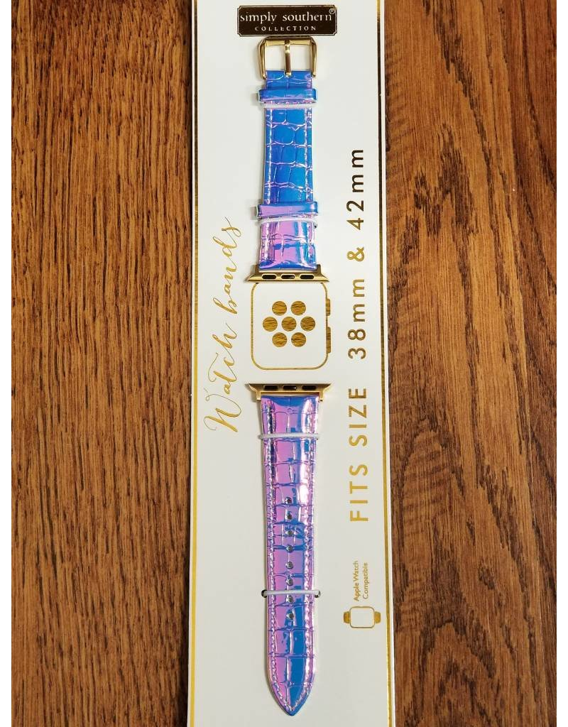 Purple Opal Glitter Watch Strap