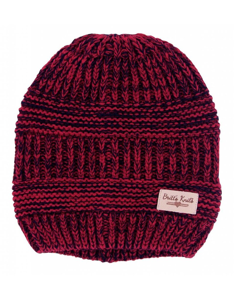 Knit Beanie Red