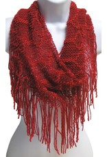 Red Tube Scarf