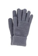 Stretch Knit Gloves Grey