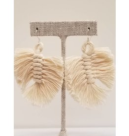 Shake Your Tail Feather Earrings Natural