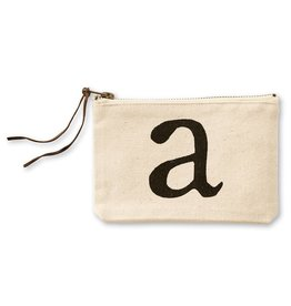 Initial Cosmetic Pouch A