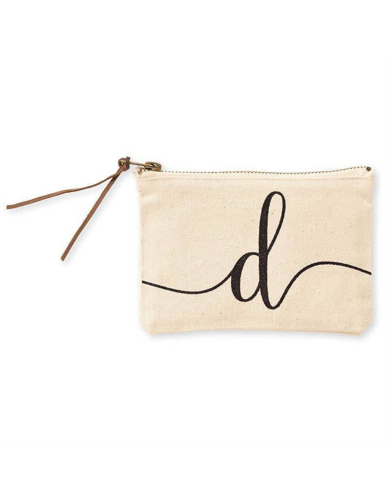 Initial Cosmetic Pouch D