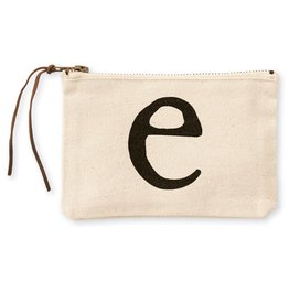 Initial Cosmetic Pouch E