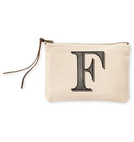 Initial Cosmetic Pouch F