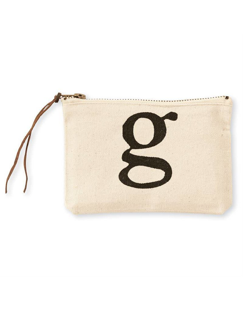 Initial Cosmetic Pouch G