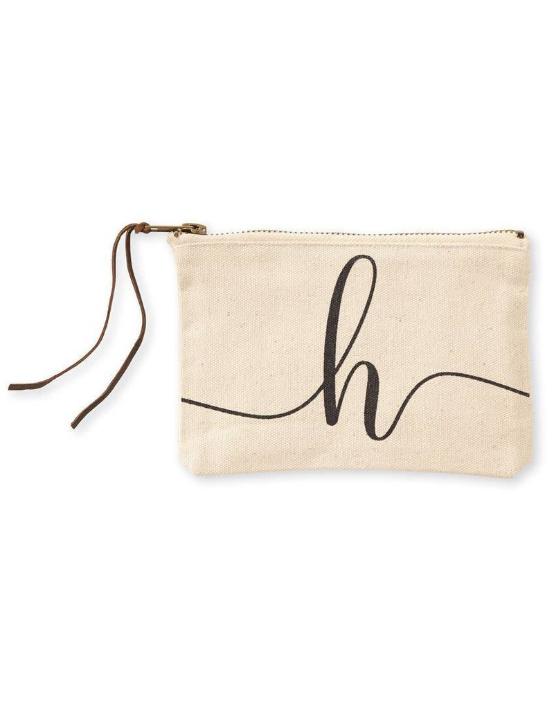 Initial Cosmetic Pouch H