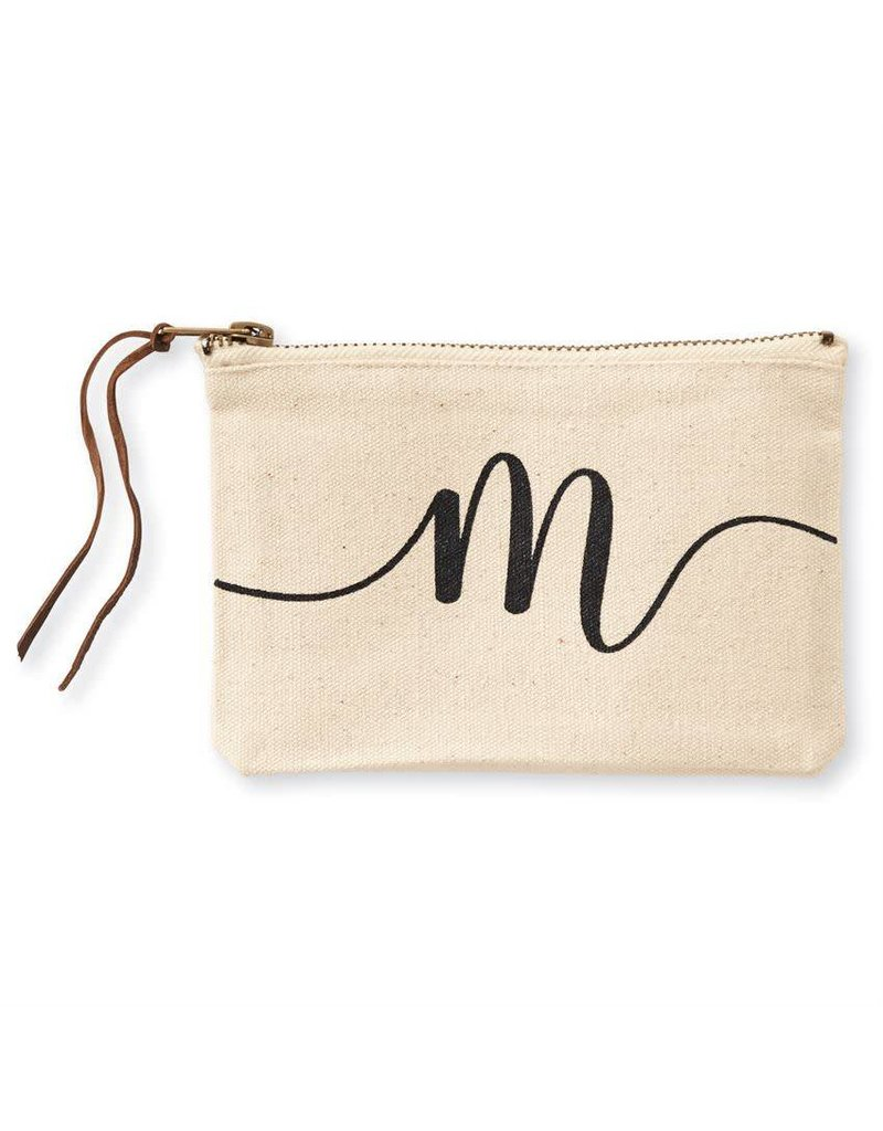 Initial Cosmetic Pouch M