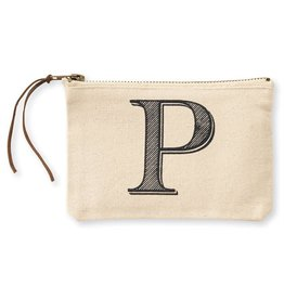 Initial Cosmetic Pouch P