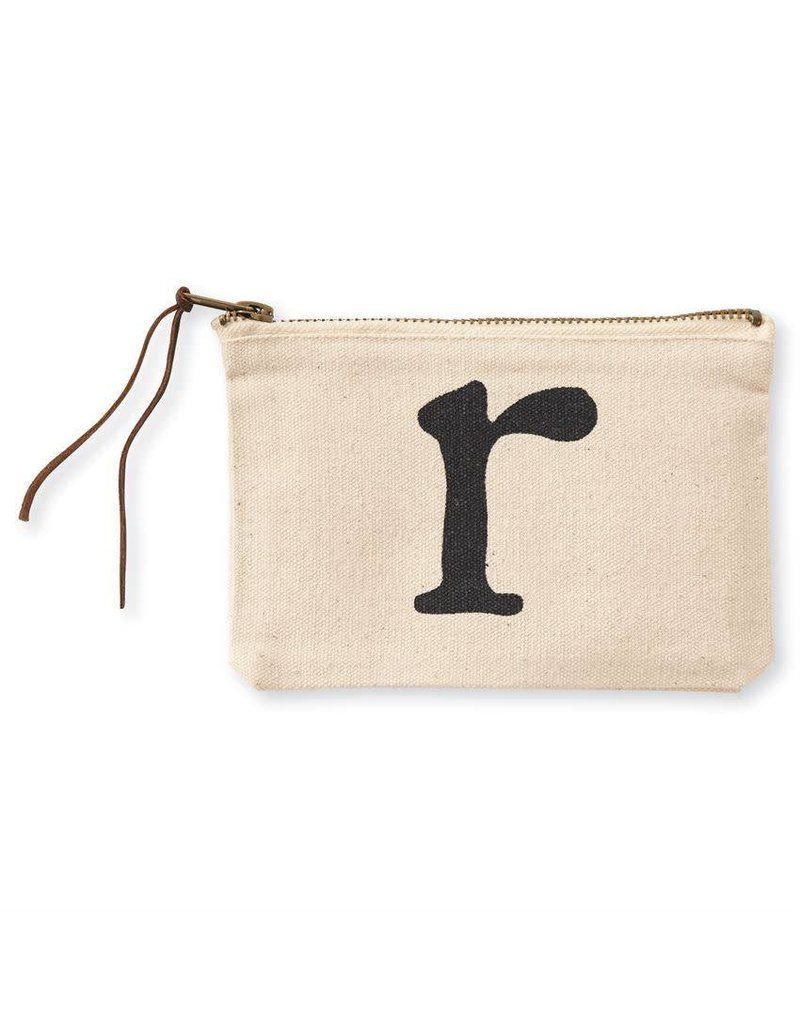 Initial Cosmetic Pouch R