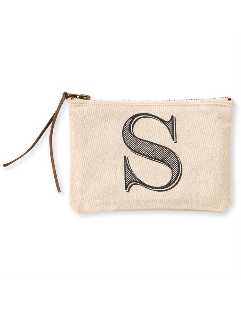 Initial Cosmetic Pouch S