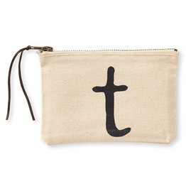 Initial Cosmetic Pouch T