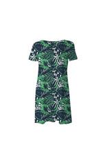 Mary Square A-Line Dress Havana S
