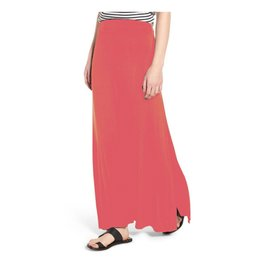 Mary Square Maxi Skirt Watermelon XS