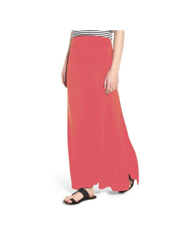 Mary Square Maxi Skirt Watermelon XS