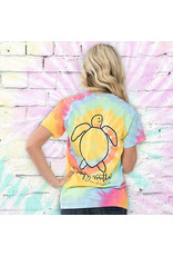 SS Tee Save the Turtle Tie-Dye Med
