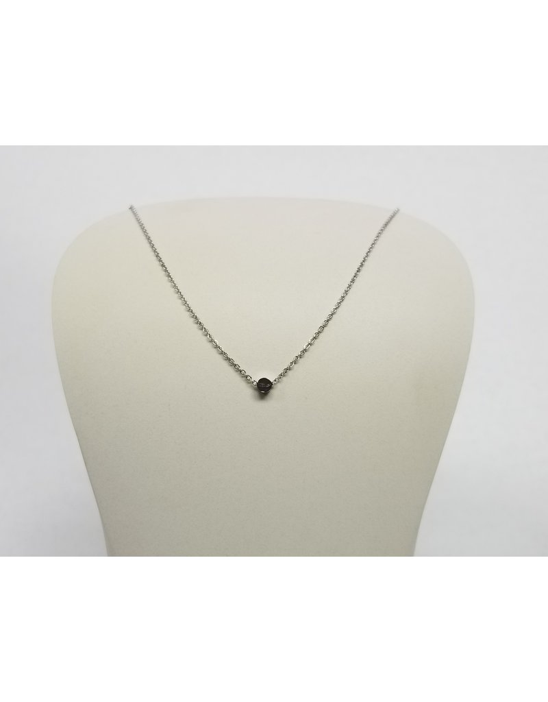 Rebecca Dot Necklace Silver