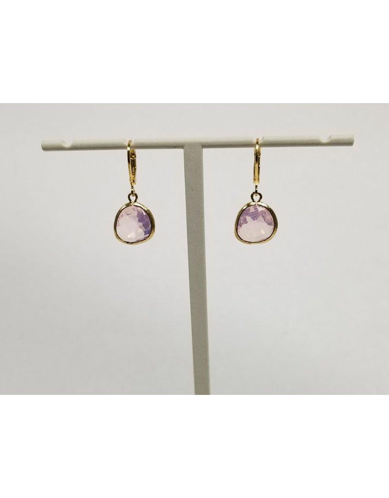 Rebecca Gold Lvrbk Ear Violet Opal