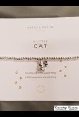 A Little Cat Silver Bracelet