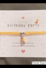 Birthday Party Bracelet