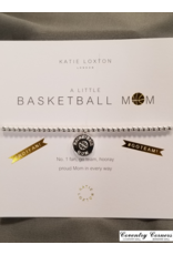 Basketball Mom Silver Bracelet