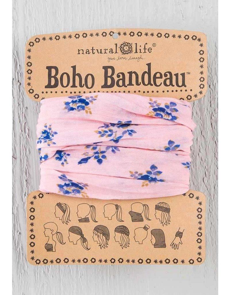 Boho Bandeau Pink Roses