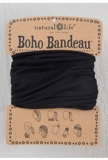 Black Boho Bandeau
